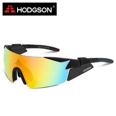 8005 HODGSON Brand New Designed Waterproof Cycling Glasses Sports Eyewear Bicycle Goggles Bike Sunglasses with 2 Polarized Lens