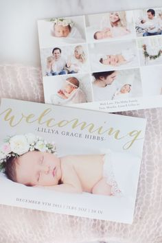 Birth Announcement  Minted