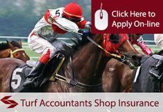 Turf Accountants Shop Insurance