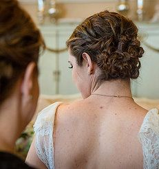 Megan Lenton - Hair Stylist . Makeup Artist | WEDDINGS #weddinghair #updo
