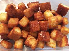 レンジで簡単食パンラスクの画像