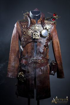 Steampunk fashion conveys a Victorian style complete with corsets and petticoats for women and top hats and strait jackets for men, with the additional flair of technological pieces. Description from pinterest.com. I searched for this on bing.com/images