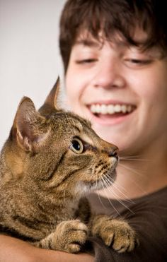 Cat Therapy for Autistic Children -  A True Story of the Miracle  a Cat  Brought to an Autistic Boy