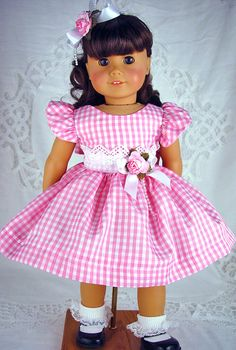 American Girl dress American Girl Easter  American by ADollsFancy