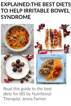 Suffering with irritable bowel syndrome and have no idea what to eat? This overview offers the best diets for IBS -with advice fro Nutritonal Therapist Jenna Farmer If you want to improve your digestive health, start with this.
