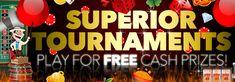 ALL SLOTS Tournaments At Superior Casino!
