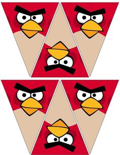 Angry Bird Red Banner .... free to use & free to share <3