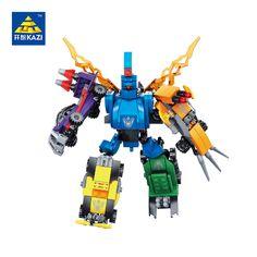 KAZI blocks  5 in 1 Transformer s Blocks Education building blocks Toy For Children intelligence  fancy toy Compatible Leg o
