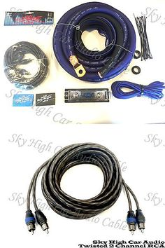 amplifier kits tspec v128pk 8 awg gauge v12 series ofc car audio rh pinterest com