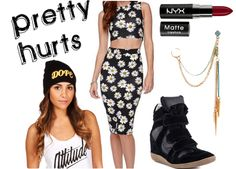 Beyonce Pretty Hurts Outfit