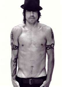 Anthony Kiedis - love me some Red Hot Chili Peppers