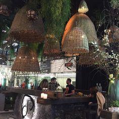 Design was everywhere at Maison & Object Paris, 2017. #creativity #maisonobjet2017 #paris #lamps #cafe #junglefun #wicker #design #interiordesign #lights #boothdesign #drinkstation #furniture #green #plants #organic #edgy #vases #candles #keepthemguessing
