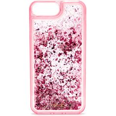 ban.do Glitter Bomb iPhone 7 Plus Case (€18) ❤ liked on Polyvore featuring accessories, tech accessories, phone cases, phone, cases, iphone case, pink stardust, iphone cover case, transparent iphone case and iphone cases