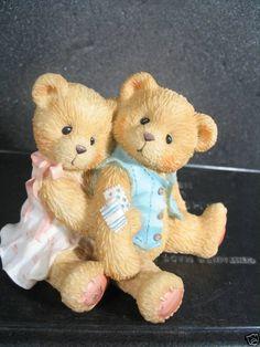 Cherished Teddies SETH & SARABETH Bears Hugging    #128015