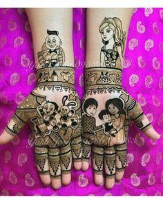 Mehndi design for baby shower...