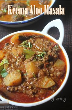 Delicious spicy and flavourful mutton keema aloo masala which goes well with rice, roti, idli, dosa or with anything. This is simple to make and taste delicious.