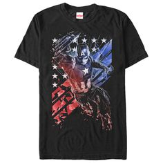 Join your favorite #superhero on his fight for justice with the #Marvel Captain America Shattered Black #T-Shirt. #Captain America is  in a shattered style with his famous shield on the front of this cool black Captain America Civil #War T-shirt. LIKE & SHARE NOW FOR YOUR FRIEND  | YeahTshirt.com