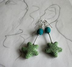 Ohrhänger - Ohrhänger  Naturschatz    - ein Designerstück von sibea bei DaWanda