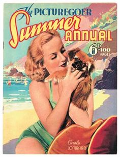 Carole Lombard posters, etc. - CaroleLombardJun39 - Classic Movie Favorites…