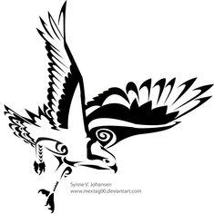 Osprey tattoo by mextag00.deviantart.com on @deviantART
