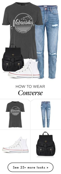 """""""perrie insp"""" by littlemixmakeup on Polyvore featuring H&M, Topshop, Accessorize and Converse"""