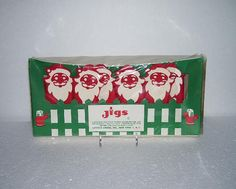 Vintage Santa Claus Jigs Tumbler Holders by TimeSpanTreasures