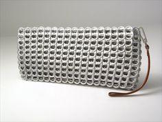 Soda can tab purse