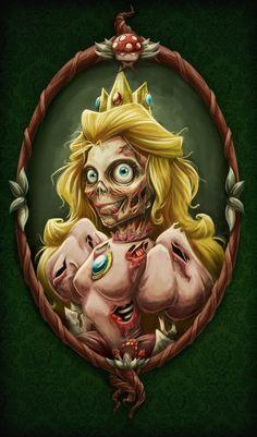 Amanda Dockery - Peach zombie version