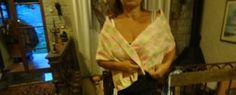 Echarpe de gase de seda italiana ( só por encomenda...) Disponível em palha de seda