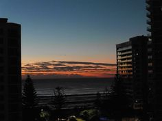 Sunset over Surfer's Paradise Qld, Australia
