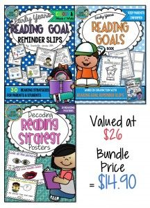 Teaching Reading Skills Bundle. Miss Jacobs Little Learners. Decoding, Reading Goals, Phonics, Blends, Comprehension
