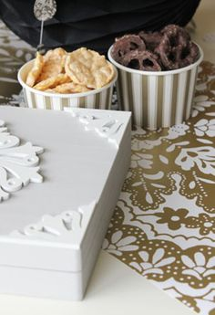 Check out Stef Knaus' blog post about party planning with the brand new Buttercream line! // Buttercream Luxe Craft