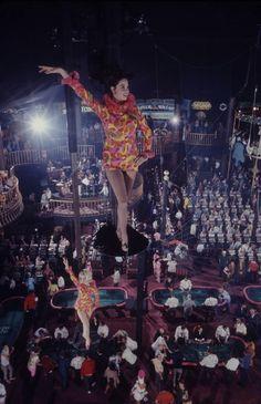 Opening night at Circus Circus, Las Vegas, Oct 1968