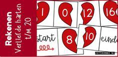 De kinderen kunnen met deze domino de splitsingen tot en met 20 op een speelse manier (in)oefenen. Dit betekent in dit geval ook dat er splitsingen tot 10 (bijv.: 2-8) in zitten. Zo oefenen de kinderen alle splitsingen door elkaar. Klik hier voor het downloaden van de domino. Gerelateerd