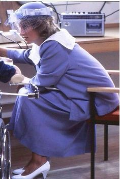 July 24, 1984: Princess Diana opens Harris Birthright Research Fetal Medicine Unit King's College Hospital, London