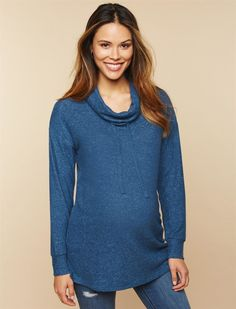 Maternity Sweater / maternity fashion #aff