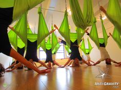 Really want to try Anti-Gravity Yoga!