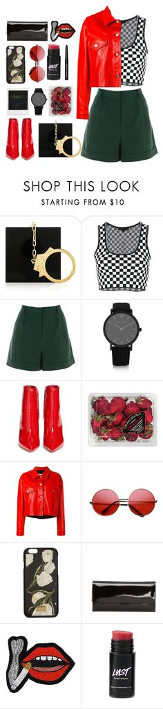 """find a thread to pull"" by transitionmetals ❤ liked on Polyvore featuring Charlotte Olympia, Alexander Wang, Warehouse, Larsson & Jennings, Gianvito Rossi, FRUIT, Golden Goose, Polaroid, INDIE HAIR and Dolce&Gabbana"