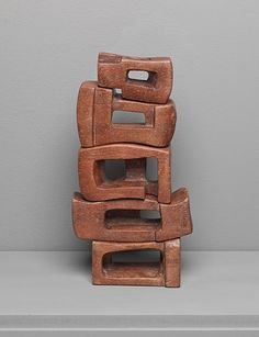 Artwork page for 'Poem', Saloua Raouda Choucair, on display at Tate St Ives. Stone Sculpture, Sculpture Art, Sculptures, Tate St Ives, Traditional Landscape, Museum Of Modern Art, Geometric Art, Islamic Art, The Guardian