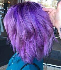 hair Hair Loss Basic Understanding Before solving a problem one must understand the problem. Pretty Hair Color, Hair Color Purple, Purple Roses, Bright Purple Hair, Black Roses, Rose Flowers, Vibrant Hair Colors, Hair Dye Colors, Colorful Hair