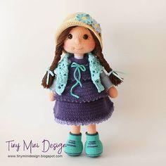 Mesmerizing Crochet an Amigurumi Rabbit Ideas. Lovely Crochet an Amigurumi Rabbit Ideas. Chat Crochet, Crochet Cat Toys, Crochet Mignon, Crochet Motifs, Crochet Amigurumi, Quick Crochet, Crochet Doll Pattern, Crochet Toys Patterns, Crochet For Kids