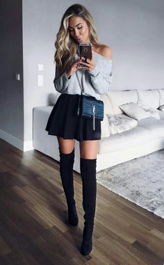 Pinned onto 2018 winter outfits Board in 2018 winter outfits Category Mode Outfits, Casual Outfits, Fashion Outfits, Womens Fashion, Fashion Trends, Fashion 2018, Fashion Styles, Fall Winter Outfits, Autumn Winter Fashion