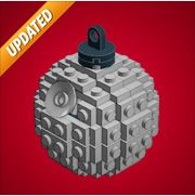 Build a Death Star from LEGO parts. Link to downloadable plans.
