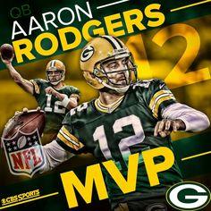 Aaron Rodgers is the 2014 MVP!! AMAZING season!
