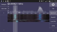 SDR Touch - Live radio via USB