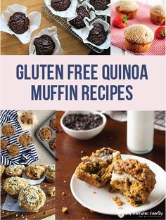 Gluten Free Quinoa Muffin Recipes - make these ahead and grab them and go in the morning.