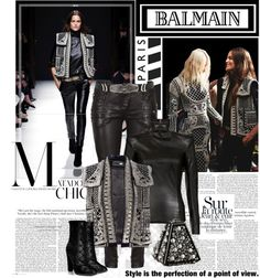 """balmain"" by roxy75 on Polyvore"