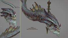 ArtStation - Serpent, Tohan Kim