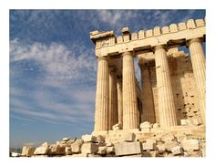 Acropolis of Athens Greece Thinking Day Athens Acropolis, Athens Greece, Oh The Places You'll Go, Places To Travel, Places To Visit, Travel Around The World, Around The Worlds, Famous Landmarks, Famous Places