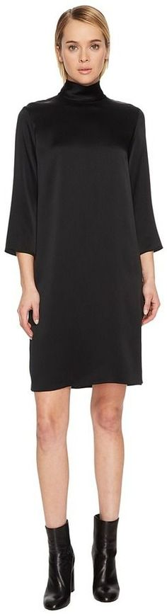 Vince Mock Neck Dress Women's Dress